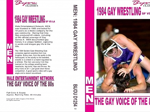 1984 Gay Wrestling SF vs LA